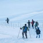 Ciaspolata a Cheneil, Valle D'Aosta